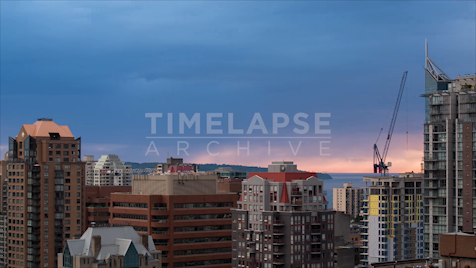 Time-lapse Vancouver: Yaletown Condos