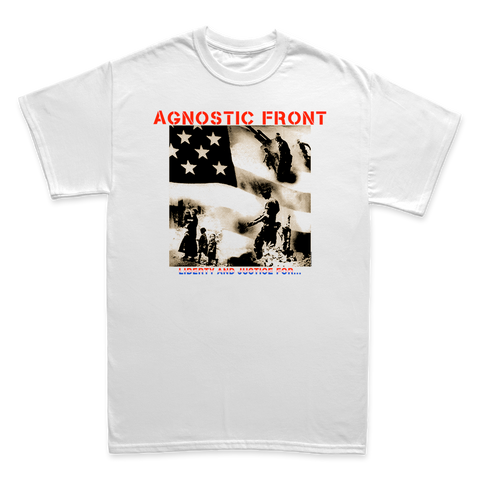 Agnostic Front - Liberty And Justice... '88 Tour Re-Issue - Shop Shogun