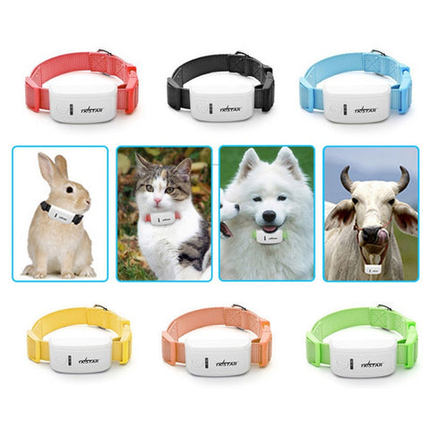 2019 NEW Mini Pet GPS Locator Real-time Tracking Overspeed Alert For Dog Cat Mobile Phone MYDING