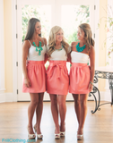 The Carolina Bow Sorority Skirt