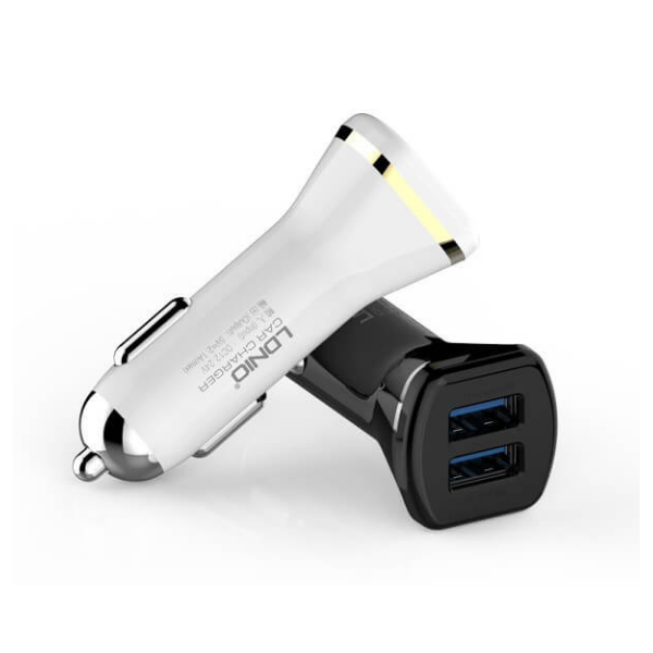 Rugged SA LDNIO Smart USB Car Charger