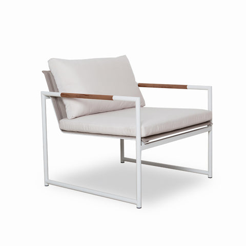 Outdoor Armchair | Breeze Lite - White