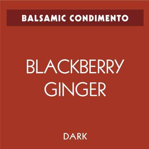Blackberry-Ginger Dark Balsamic Condimento
