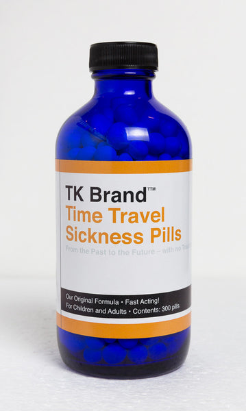 TK Brand™ Time Travel Sickness Pills