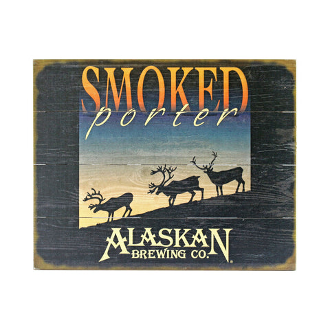 Smoked Porter Wooden Sign