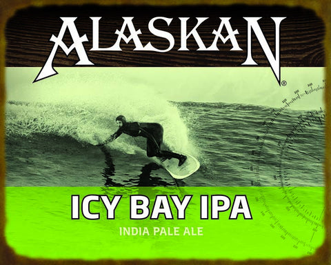 Icy Bay IPA Wooden Sign