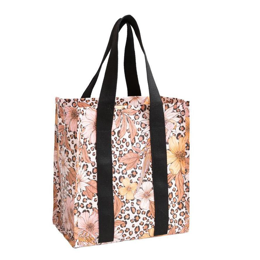 Market Bag Leopard Floral - NEW!