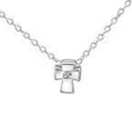 Sterling Silver children's Cross Necklace