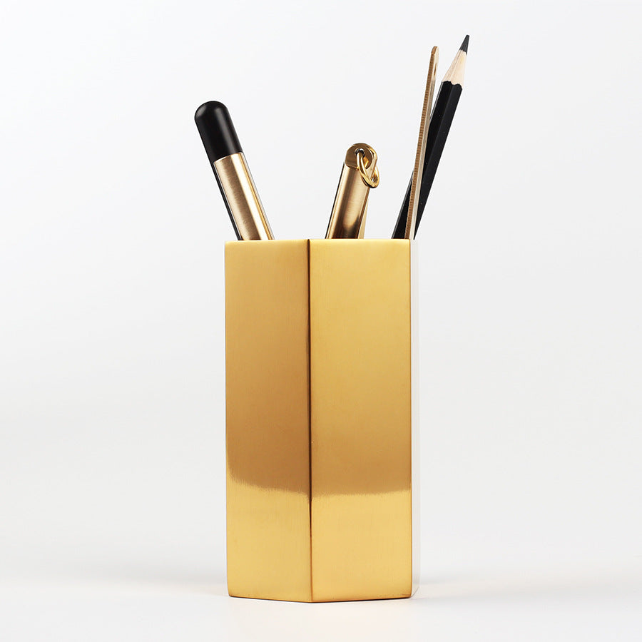 Keii Gold Hexagon Holder