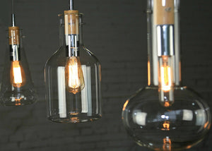 Franklin Flask Ceiling Lamp - Homlly