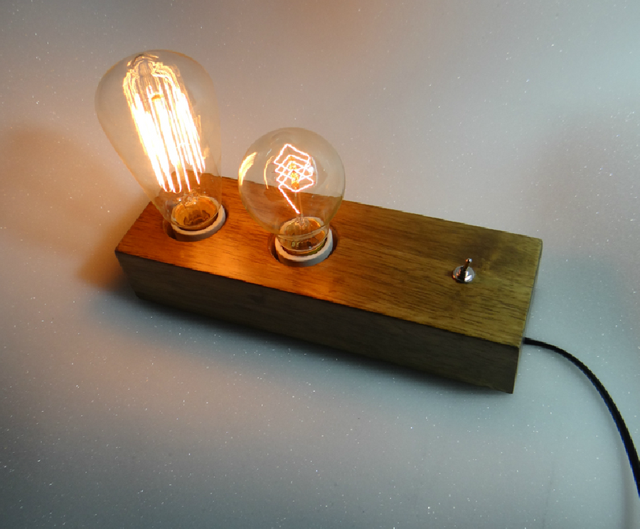 Father And Son Edison Desk Lamp - Homlly