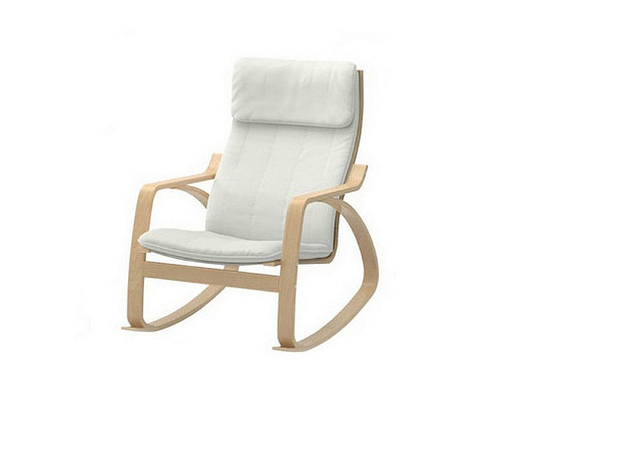 White Arvika Rocking Chair