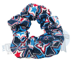 Star Spangled Scrunchies | Cheer Scrunchies | Gymnastics Scrunchies | Team USA Scrunchies