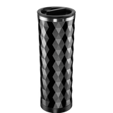 Diamond-pattern, Double Wall, Stainless Steel Tea Tumbler (16 oz.)
