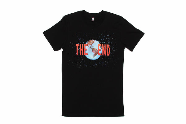T-shirt The End Darren Sylvester