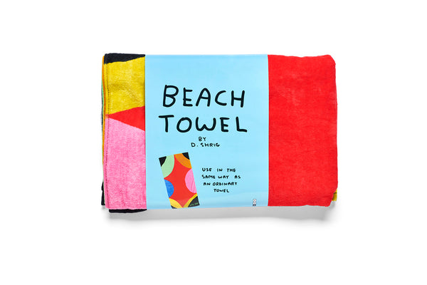 It's OK Beach Towel David Shrigley