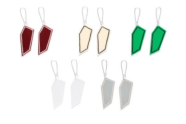 Earrings Drop Mann (After Casey Mann) Assorted 6cm