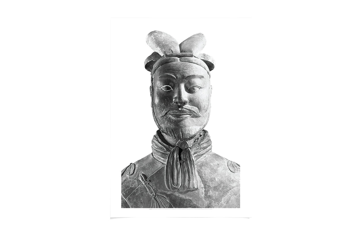 Poster A2 Armoured General Black And White