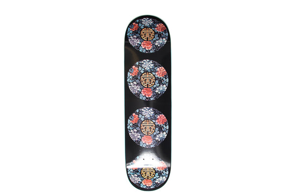 Skateboard Chinese Court Lady Blue