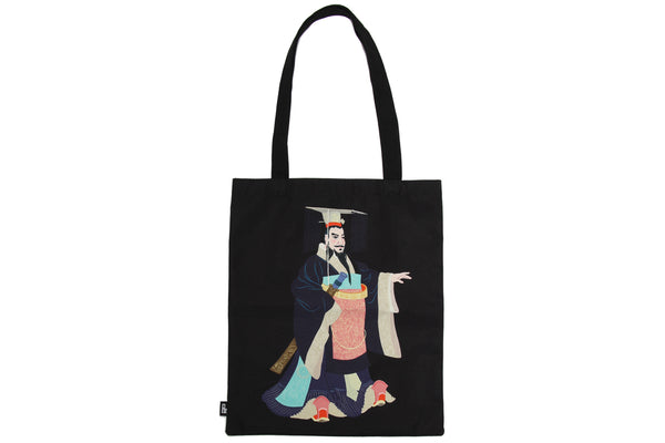Tote Bag Illustrated Terracotta Warriors