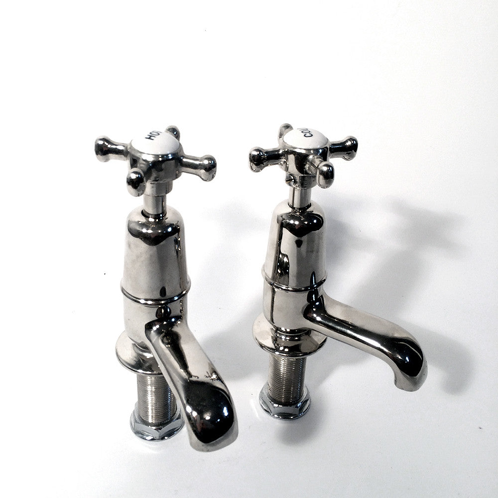 Traditional bath taps