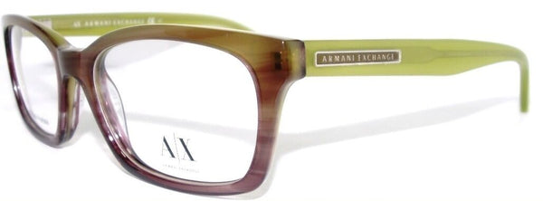 Armani Exchange AX232 Color 0D9N Lime Green Plastic Eyeglasses 50-16-140 New
