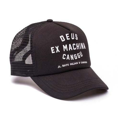 Deus Ex Machina Canggu Address Trucker Cap | Black - TVSC