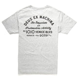Deus Ex Machina Venice Address T-Shirt | Grey