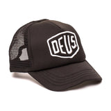 Deus Ex Machina Baylands Trucker Cap | Black & White - TVSC
