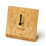 Northcore Bamboo Tide Clock | Desk Top - TVSC