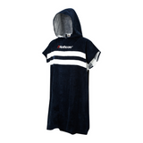 Stripey Beach Basha Changing Robe Blue