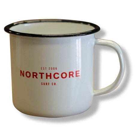 Northcore Collective Enamel Steel Mug - TVSC