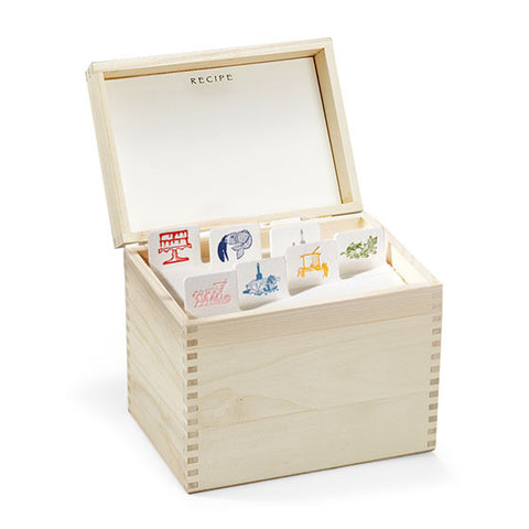 CLASSIC RECIPE BOX