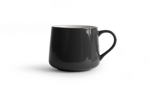 Crescent Mug - Gray 16 Ounce