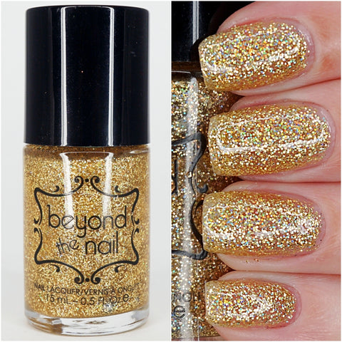 Holographic Gold Microglitter