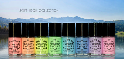 Full Collection (Set of 8) Soft Neon Nail Polish