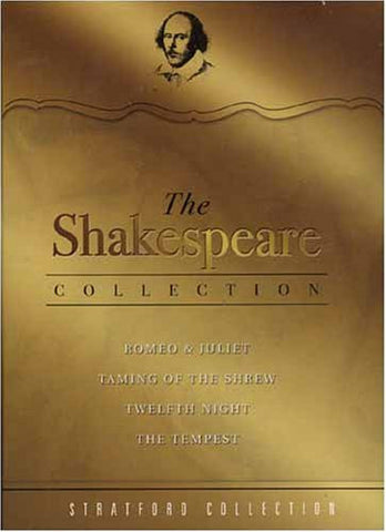 The Shakespeare Collection - Romeo and juliet/Taming Of The Shrew / Twelfth Night/The Tempest (Boxset) [DVD] [2006]
