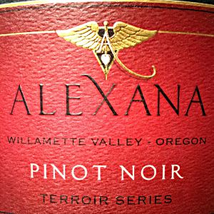 Alexana Estate Willamette Valley Terroir Series Pinot Noir Willamette Valley Oregon, 2015, 750