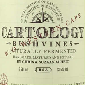 Alheit Vineyards Cartology Chardonnay South Africa, 2014, 750