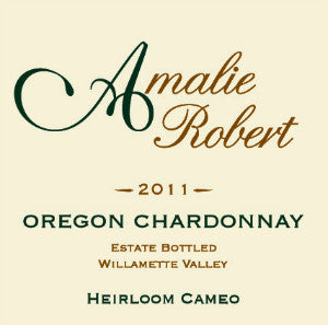 Amalie Robert Estate Heirloom Cameo Chardonnay Willamette Valley Oregon, 2011, 750