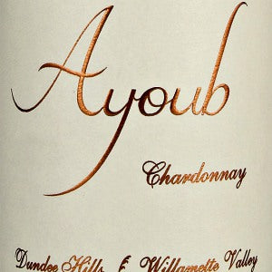 Ayoub Wines Chardonnay Willamette Valley Oregon, 2016, 750