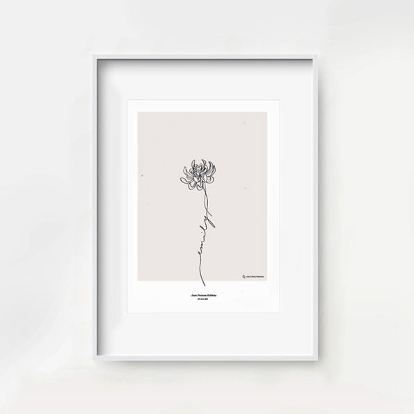 Florale Birth Print - Custom
