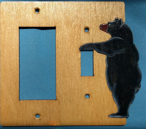 Bear Switch Rocker Left switch cover