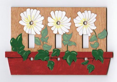 daisy triple switch plate