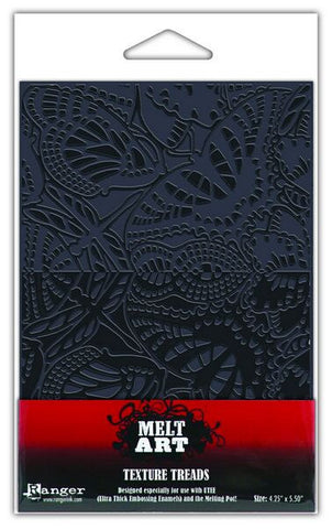 Melt Art Texture Treads Winged Mosaic By Ranger