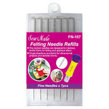 Felting Needle Refills 7pcs - Sew Mate FN-107