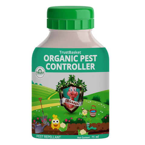 OUTDOOR PLANT POTS AND PLANTERS - TrustBasket Concentrated All Purpose Organic Pest Controller. Each 75 ml - Can be diluted into 15 Ltrs of Water
