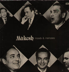 Mukesh - Moods & Memories Bollywood Vinyl LP