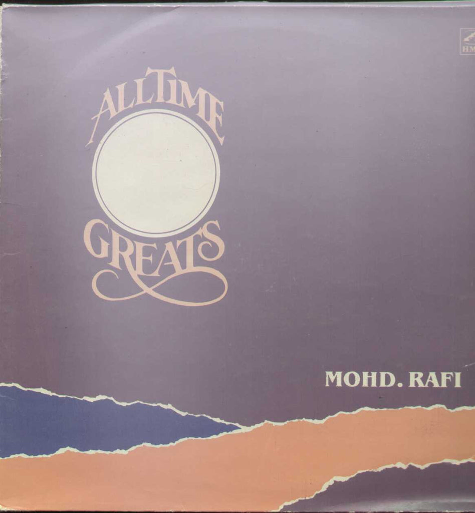 Mohd Rafi - All Time Greats Hindi Compilations Vinyl LP - 2 LPs