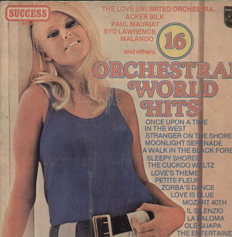 16 Orchestral World Hits English Vinyl LP